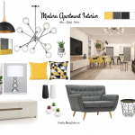 Contemporary Interior Design Mood Board – Personality, past & present